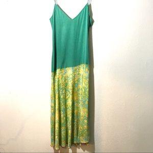 Diane Von Furstenburg Silk Drop Waist Dress